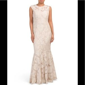 👗 NWT Marina all over lace  dress size 10